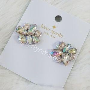 NWT Kate Spade Cluster Stud Earrings
